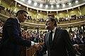 Mariano Rajoy felicita al nuevo presidente del Gobierno Pedro Sánchez (2018-06-01).jpg