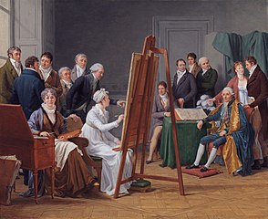 The time in the Atelier of Madame Vincent around 1800
