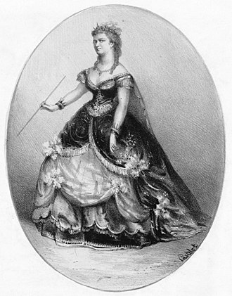 Mignon - Marie Cabel as Philine
