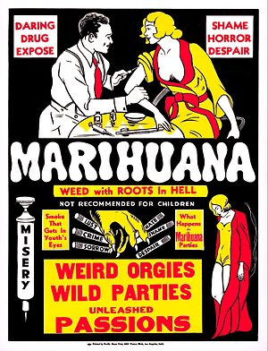 Marihuana (film) - theatrical release poster