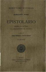 Giambattista Marino: Epistolario