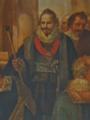 Marquês de Gouveia enquanto Mordomo-mor na Aclamação de D. João IV - José da Cunha Taborda, 1823 (Palácio Nacional da Ajuda).png