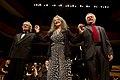 Martha Argerich, Luis Bacalov y Eduardo Hubert en el Centro Cultural Kirchner.jpg