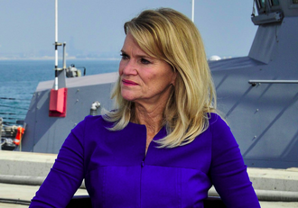 Martha Raddatz - Raddatz in an interview with Vice Adm. John W. Miller, commander of U.S. Naval Forces Central Command, U.S. 5th Fleet, Combined Maritime Forces.