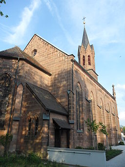 Martin Luther Kirche Kirchenweg Stein (Landkreis Fürth) 01