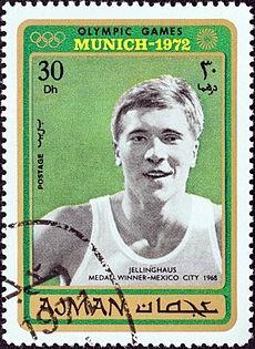 Martin Jellinghaus 1971 stamp of Ajman