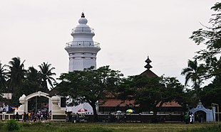Tower of Banten Grand Mosque, icon of Banten