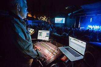 Venue (sound system) - Robb Allan mixing Massive Attack on S3L-X
