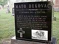 Mato Dukovac-grave.JPG