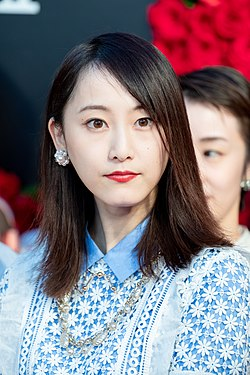 "Matsui Rena from ""21st Century Girl"" at Opening Ceremony of the Tokyo International Film Festival 2018 (31746320358).jpg"