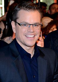 Matt Damon Glasses Oceans 11