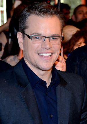 73rd Golden Globe Awards - Matt Damon, Best Actor in a Motion Picture – Musical or Comedy winner