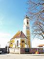 Mauerstetten - Kirchpl Nr 2 Kirche v O.JPG