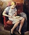 Maurice Asselin - Jeune fille lisant.jpg