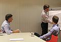 Mauricio Macri con ejecutivos de Restorando.com en el Centro Metropolitano de Diseño (6877901135).jpg