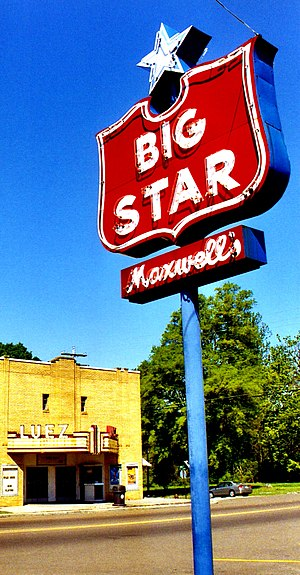 Bolivar, Tennessee - Maxwell's Big Star and theater