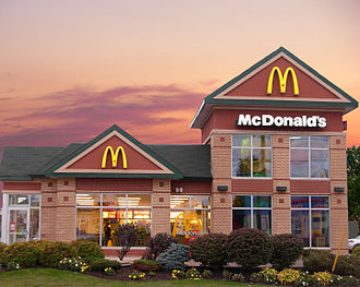 Franchising - A McDonald's franchise in Moncton, New Brunswick, Canada