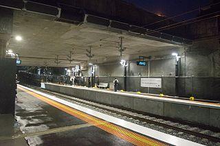 McKinnon railway station
