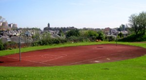 Meadowbank Stadium - Outdoor basketball court at Meadowbank