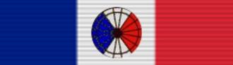 Joel Thompson Boone - Image: Medaille d'honneur pour acte de courage et de dévouement ribbon 6