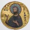Medallion with Saint John the Baptist from an Icon Frame.jpg