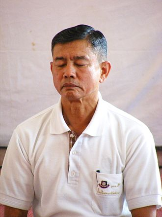 Efficacy of prayer - A man in meditation