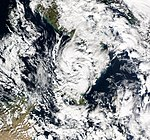 Mediterranean tropical cyclone January 28 2009.jpg
