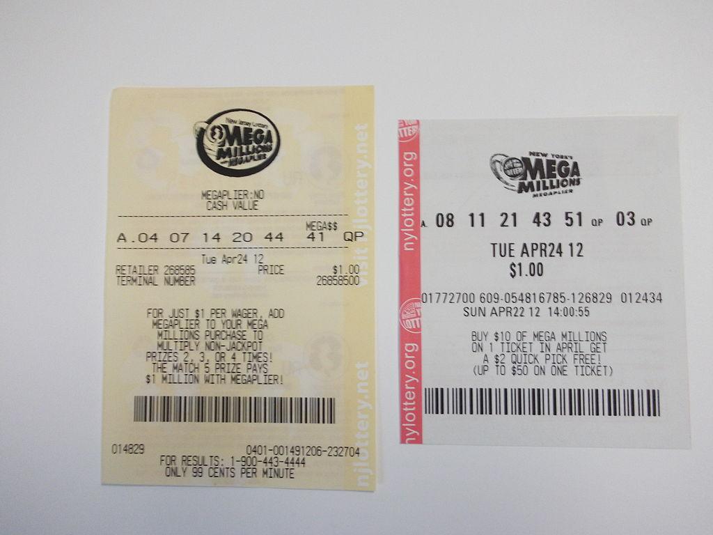 File:Mega Millions lottery tickets JPG - Wikimedia Commons