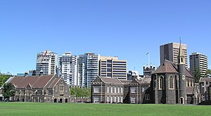 Melbourne Grammar School - Melbourne Grammar School in Domain Road, South Yarra
