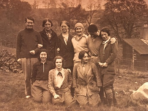 Members of The Pinnacle Club - a women's climbing club based in the United Kingdom - thought to date from the late 1920s or early 1930s