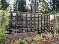 Memorial Wall at Brunswick Park Cemetery-Crematorium - geograph.org.uk - 629428.jpg