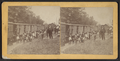Men standing by railway cars, from Robert N. Dennis collection of stereoscopic views.png