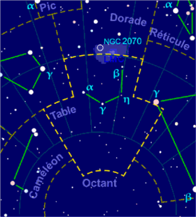 Image illustrative de l'article Table (constellation)