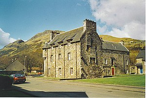 Menstrie Castle - Image: Menstrie Castle, at the Foot of the Ochil Hills