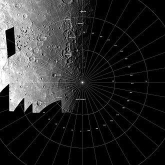 Borealis quadrangle - Photomosaic of Mariner 10 images