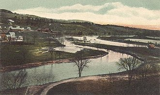 Franklin, New Hampshire - Image: Merrimack River, Franklin, NH