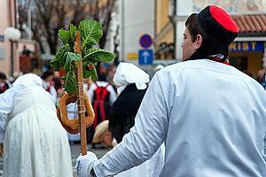 Lika cap - Cap with traditional costume Crikvenica