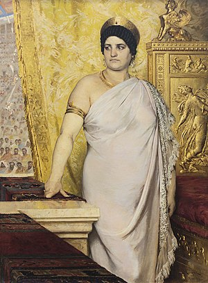 Messalina - Peder Severin Krøyer, Messalina, 1881, Gothenburg Museum of Art
