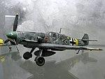 Messerschmitt Bf 109G JG 52 Gerhard Barkhorn, modello (Museo del modellismo storico Voghenza).JPG