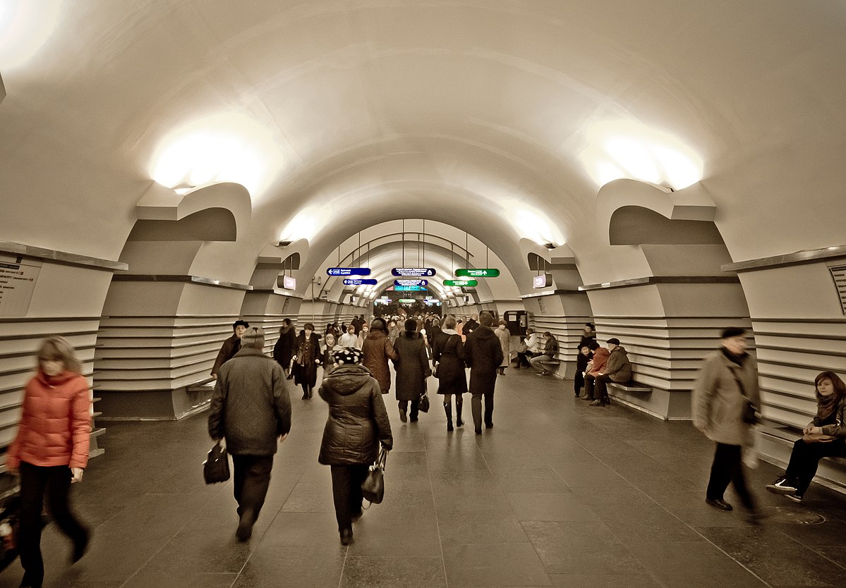 nevsky prospekt saint petersburg metro wikipedia. Black Bedroom Furniture Sets. Home Design Ideas