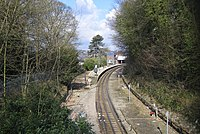 Metropolitan Line railway at Chesham - geograph.org.uk - 131684.jpg