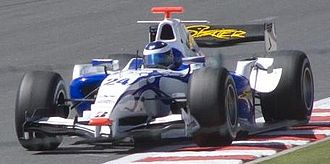 Michael Herck - Herck driving for David Price Racing at the Magny-Cours round of the 2008 GP2 Series season.