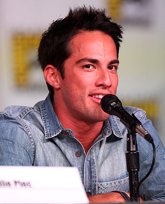 Michael Trevino - Trevino at the 2012 San Diego Comic-Con.