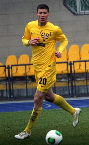 Ľubomír Michalík - Michalík playing for FC Kairat in 2013