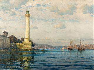 The Ahırkapı Lighthouse