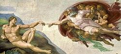 Michelangelo - Creation of Adam (cropped).jpg