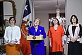 Michelle Bachelet junto a ministras se refiere al aborto en 3 causales (36550378922).jpg