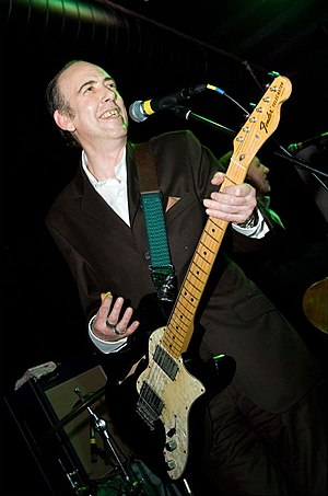 Mick Jones (The Clash guitarist) - Jones playing with Carbon/Silicon at the Carbon Casino VI event on 22 February 2008