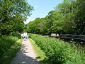Mid Devon , Grand Western Canal and Canal Boats - geograph.org.uk - 1328755.jpg