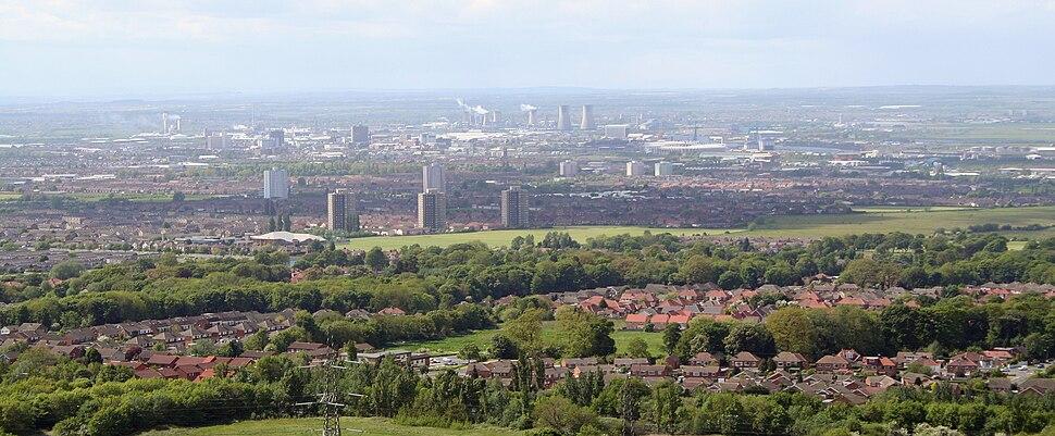 Middlesbrough panorama